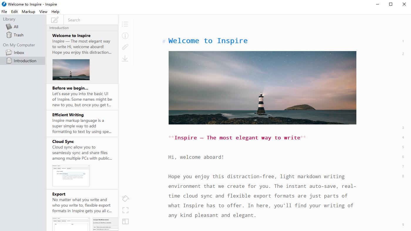 Inspire Writer 2.13.1