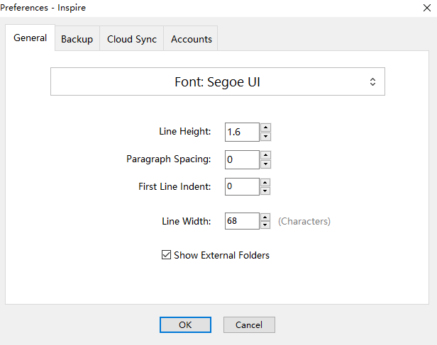 Change your editor preference in settings